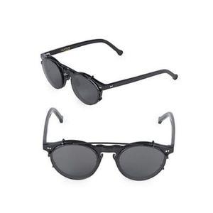 NEW HADID 46mm Aviator Sunglasses